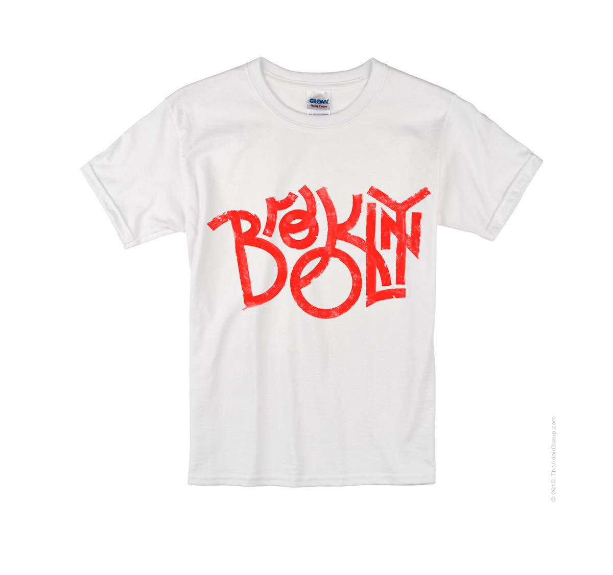 Kids Brooklyn T-shirt -White photo