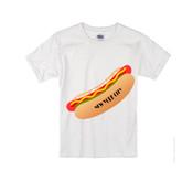 Kids NY Hot Dog T-shirt -White