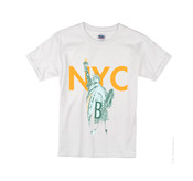 Kids NY Liberty T-shirt -White
