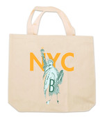 NY Liberty Canvas Tote Bag