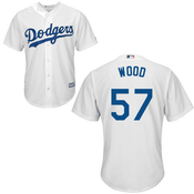 Alex Wood Jersey - LA Dodgers Replica Adult Home Jersey