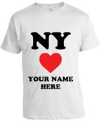 NY Loves Me T-shirt -White