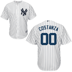 George Costanza Jersey - NY Yankees Adult Home Jersey Photo