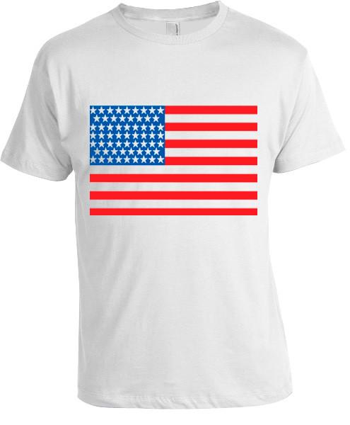 USA Flag T-shirt  photo