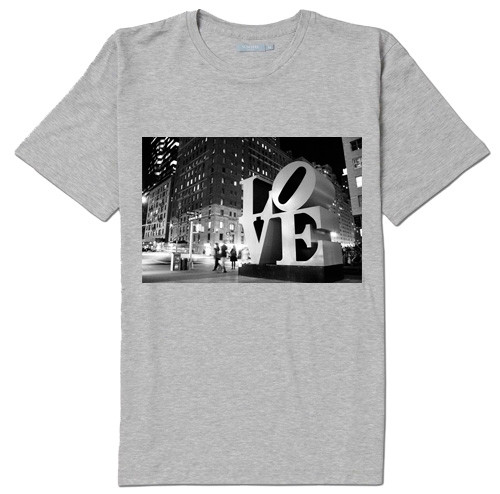 NY L-O-V-E T-shirt -Grey  photo