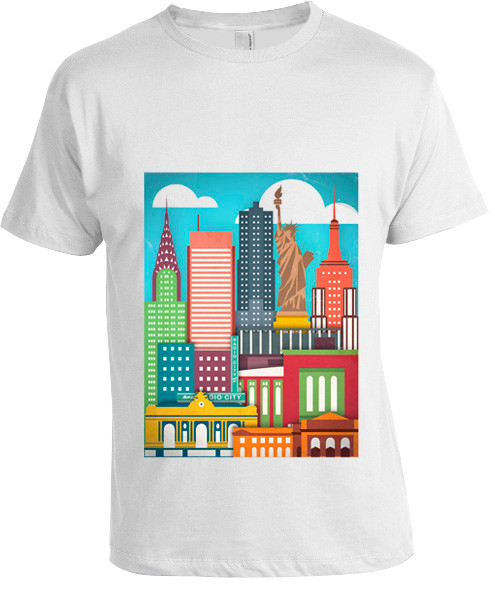 Color Me NY T-shirt  photo