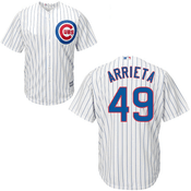 Jake Arrietta Youth Jersey - Chicago Cubs Replica Kids Home Jersey