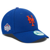 NY Mets Word Series Adjustable Cap - Royal