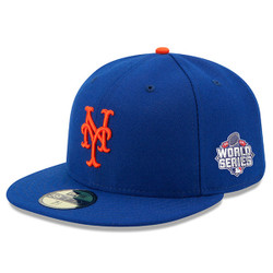 NY Mets World Series Authentic On Field 59Fifty Cap Photo