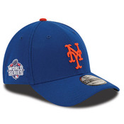 NY Mets Word Series Flex Fit Cap - Royal