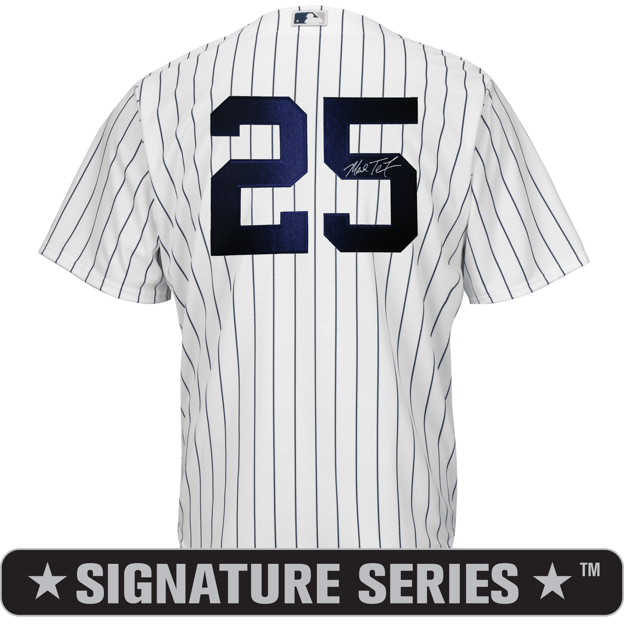 100% authentic 57773 ada43 Mark Teixeira Signature Series No Name Jersey - NY Yankees Replica Adult  Home Jersey