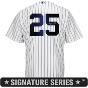 Mark Teixeira Signature Series No Name Jersey