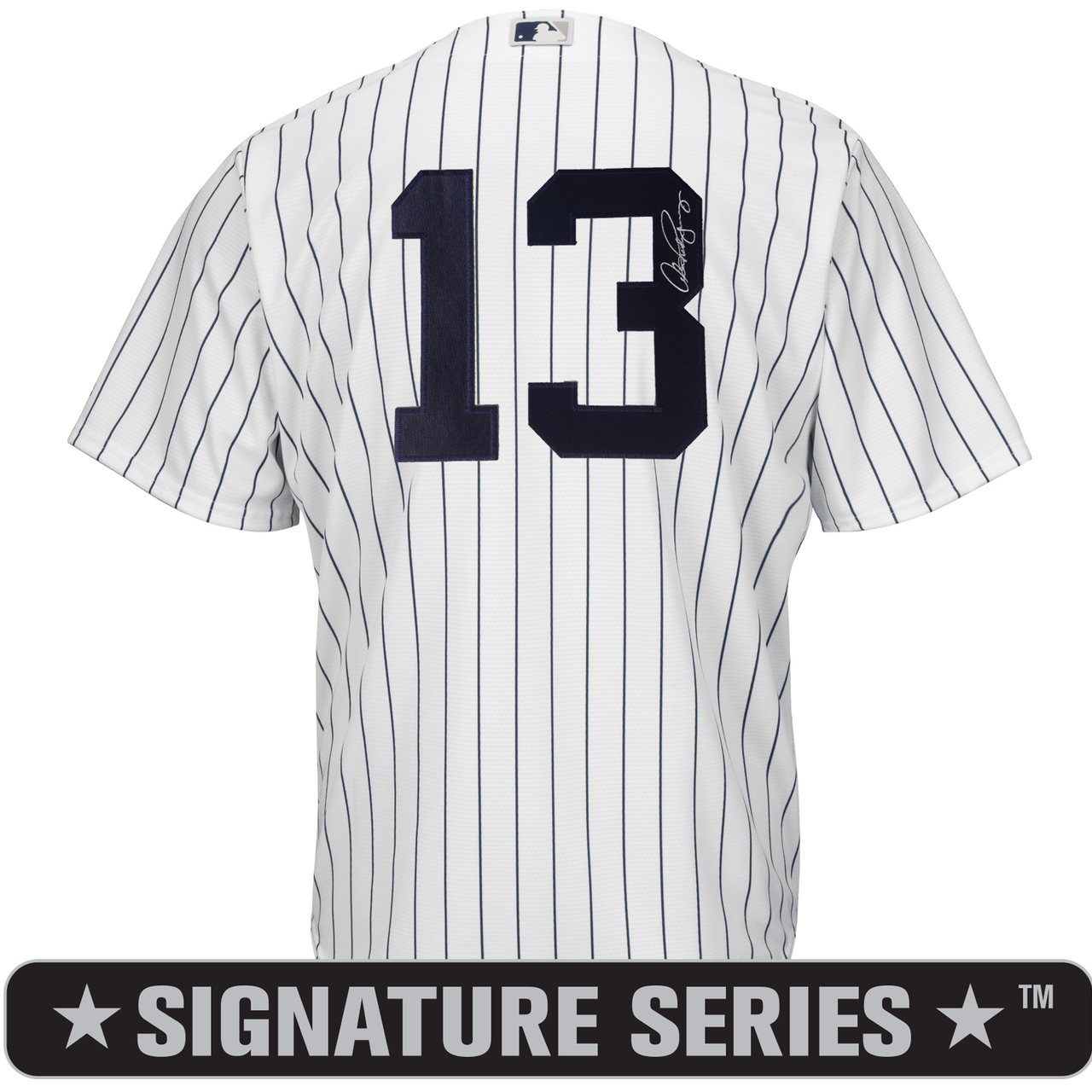 factory price c8b62 b55dc Alex Rodriguez Signature Series No Name Jersey - NY Yankees Replica Adult  Home Jersey
