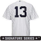 Alex Rodriguez Signature Series No Name Jersey - NY Yankees Replica Adult Home Jersey