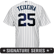 Mark Teixeira Signature Series Jersey
