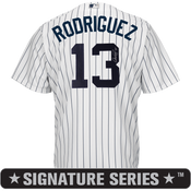 Alex Rodriguez Signature Series Jersey - NY Yankees Replica Adult Home Jersey