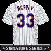 Matt Harvey Signature Series Jersey - NY Mets Replica Adult Home Jersey