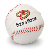 Arizona Diamonbacks Personalized Baseball Pillow