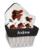 Baltimore Orioles Personalized 6-Piece Gift Basket