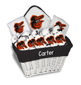 Baltimore Orioles Personalized 9-Piece Gift Basket
