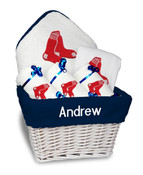 Boston Red Sox Personalized 6-Piece Gift Basket