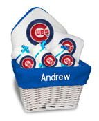 Chicago Cubs Personalized 6-Piece Gift Basket