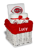Cincinnati Reds Personalized 3-Piece Gift Basket