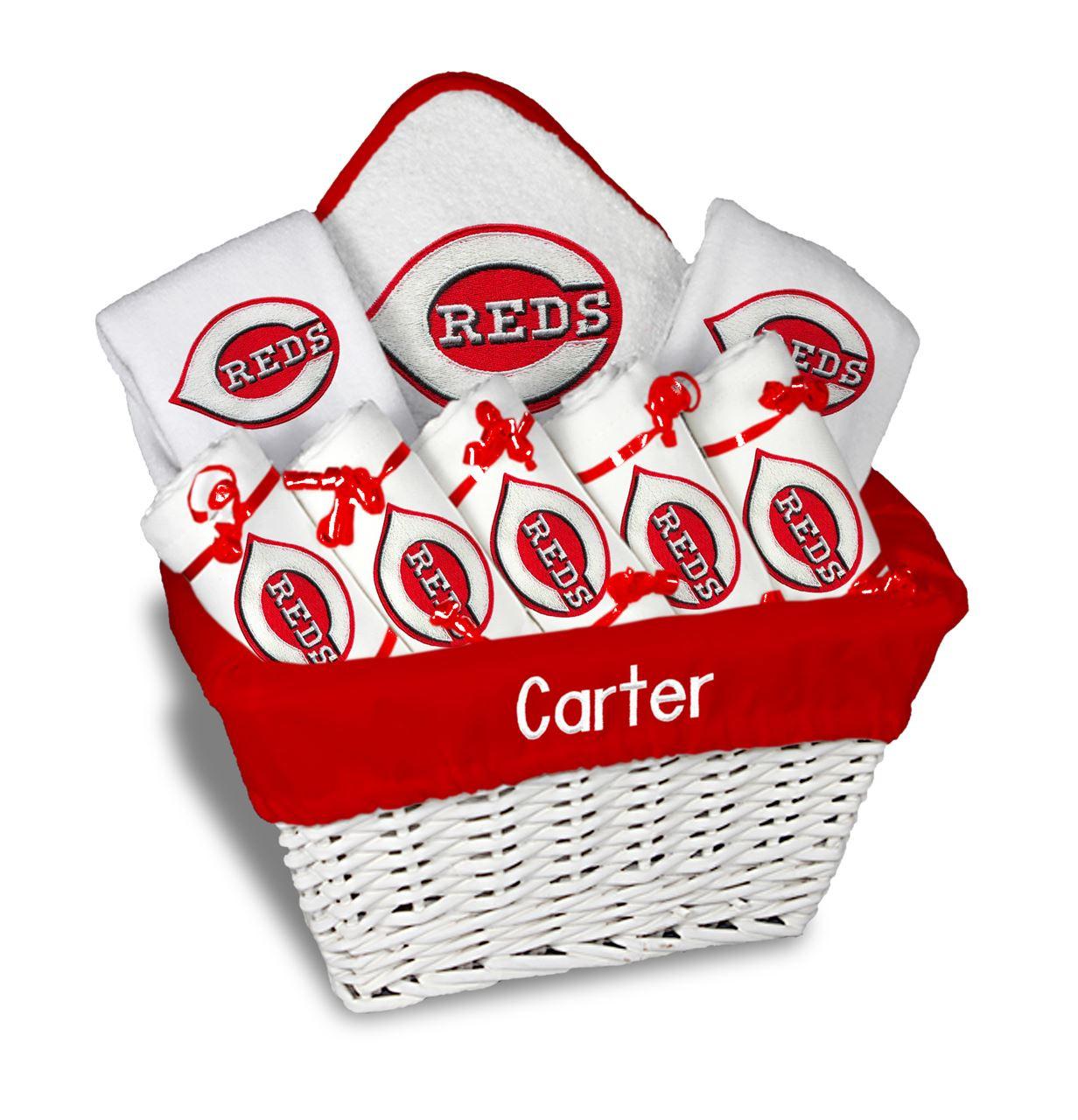... Cincinnati Reds Personalized 9-Piece Gift Basket. Image 1 Photo. Loading zoom  sc 1 st  Grand Slam New York & Cincinnati Reds Personalized 9-Piece Gift Basket