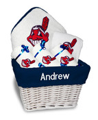 Cleveland Indians Personalized 6-Piece Gift Basket