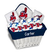 Cleveland Indians Personalized 9-Piece Gift Basket