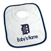 Detroit Tigers Personalized Pullover Baby Bib