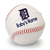 Detroit Tigers Personalized Baseball Pillow