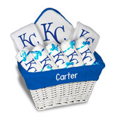 KC Royals Personalized 9-Piece Gift Basket