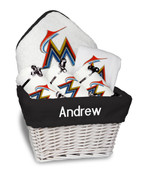 Miami Marlins Personalized 6-Piece Gift Basket