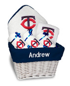 Minnesota Twins Personalized 6-Piece Gift Basket