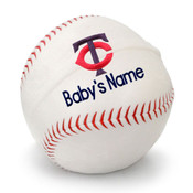 Minnesota Twins Personalized Baseball Pillow