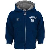 Yankees Navy Baby Hooded Sweatshirt