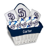 SD Padres Personalized 9-Piece Gift Basket