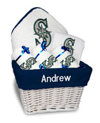 Seattle Mariners Personalized 6-Piece Gift Basket