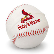 St Louis Cardinals Personalized Baseball Pillow