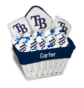 Tampa Bay Rays Personalized 9-Piece Gift Basket