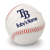 Tampa Bay Rays Personalized Baseball Pillow