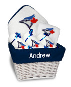 Toronto Blue Jays Personalized 6-Piece Gift Basket