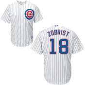 Ben Zobrist Jersey - Chicago Cubs Replica Adult Home Jersey