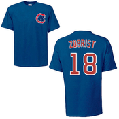 Ben Zobrist T-Shirt - Blue Chicago Cubs Adult T-Shirt