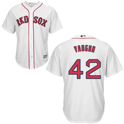 Mo Vaughn Jersey - Boston Red Sox Replica Adult Home Jersey Photo