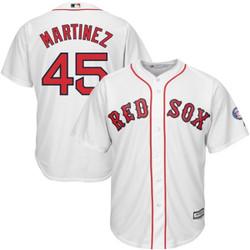 Pedro Martinez Jersey - Boston Red Sox Replica Adult Home Jersey Photo