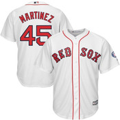Pedro Martinez Youth Jersey - Boston Red Sox Replica Kids Home Jersey
