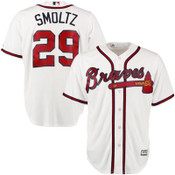 John Smoltz Jersey - Atlanta Braves Replica Adult Home Jersey