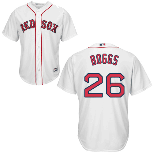 Wade Boggs Jersey - Boston Red Sox Replica Adult Home Jersey photo